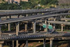 长安欧尚A800 挑战重庆最牛立交桥