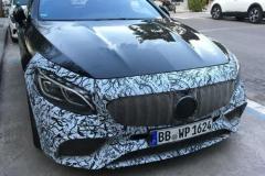 新款奔驰S级Coupe谍照 或亮相法兰克福