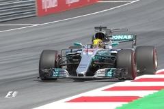 F1奥地利站第二次练习 汉密尔顿力压维特尔再夺最快