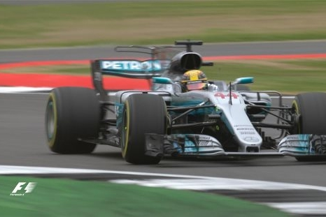 F1英国站第三次练习赛 汉密尔顿力压维特尔拿下最快