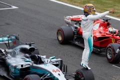 F1英国站排位赛后:汉密尔顿免于处罚