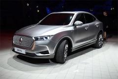 宝沃全新BX6轿跑SUV量产版 路试谍照曝光