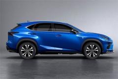 雷克萨斯新款NX造型升级 成都车展上市