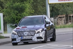 新款AMG C63旅行版谍照曝光 外观小变化