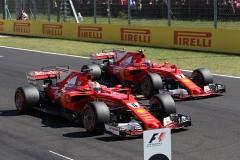F1匈牙利站排位赛前三采访 维特尔:已忘掉坏运气