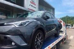 国内首台丰田C-HR到店 这SUV只卖12万