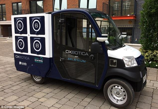 英线上超市无人驾驶卡车测试完成