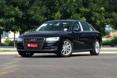 奥迪A8L两款新车型上市 售92.78万元起