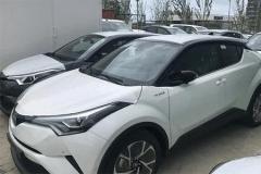 丰田C-HR抵港,售12万,让国产车无法生存
