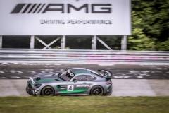 最强公路赛车奔驰AMG GT4 24万美元起
