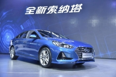 成都车展:北京现代三款新车上市亮相