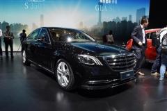 成都车展:新一代奔驰S级预售95万起