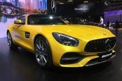 2017成都车展:新款AMG GT 141.8万起