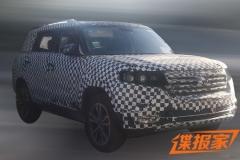 北京汽车全新SUV谍照曝光 年内上市