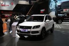 川汽野马新款T70正式上市 售7.58万起