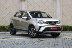 吉利远景X3购车指南 推荐1.5L精英型