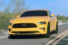 新款福特Mustang GT路试照亮相 来自V8的咆哮
