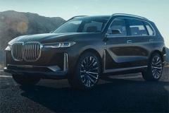 全新宝马X7配透明车顶 将于2018年量产