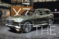 2017法兰克福车展:宝马X7概念车首发