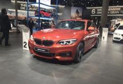法兰克福车展:宝马新款2系Coupe首发