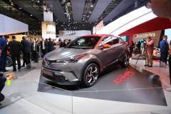 法兰克福车展:丰田C-HR混动概念车