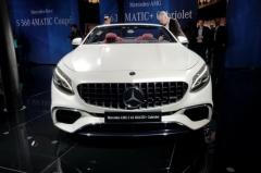 法兰克福车展:奔驰新款S级轿跑/敞篷