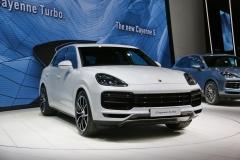 法兰克福车展:全新Cayenne Turbo发布