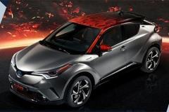 丰田C-HR混动版发布 外观换新/将在华国产