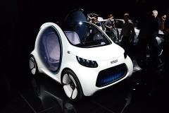 法兰克福车展:smart新概念车亮相