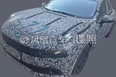 领克CS11量产车谍照曝光 明年年底上市