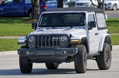 全新Jeep牧马人最新谍照 11月27日亮相