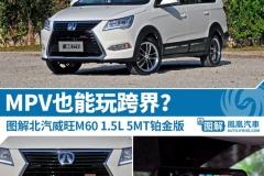 新车图解:北汽威旺M60 MPV也玩跨界?