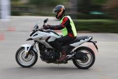 本田摩托中级训练营 练就一身真本领