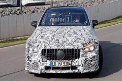 梅赛德斯-奔驰AMG GT4三厢版测试谍照曝光