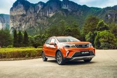 试驾|吉利远景X3 1.5L尊贵型,6万元小型SUV品质首选