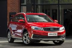 新车图解:吉利S1 锋尚新硬派跨界SUV