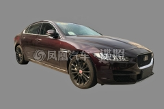 曝国产捷豹XEL量产版实车 或年内上市