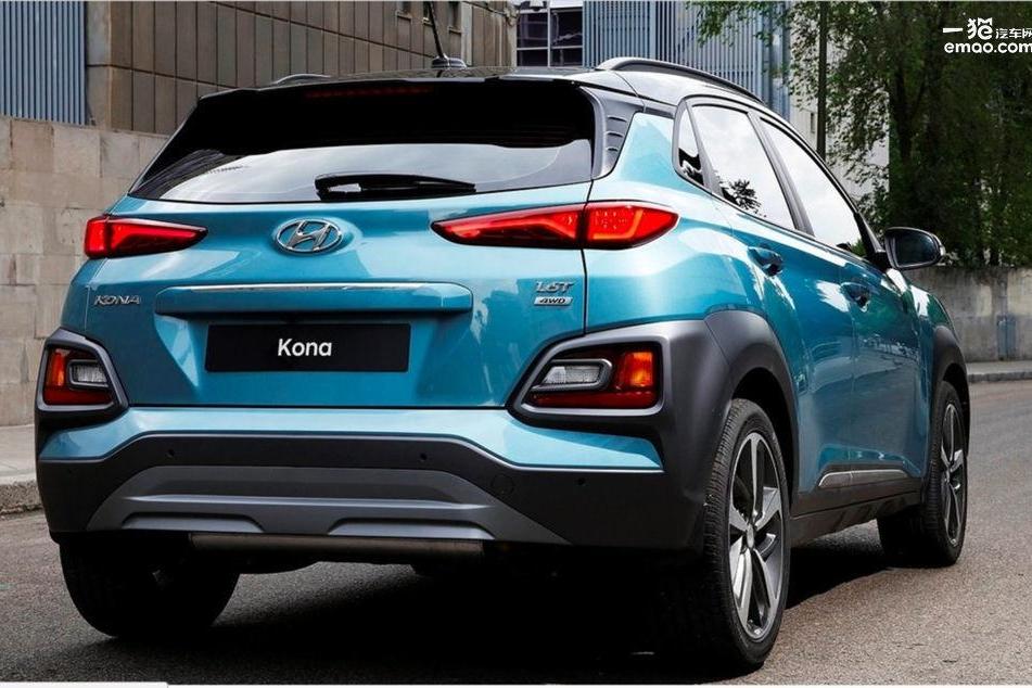 现代全新国产SUV KONA谍照曝光 将于广州车展亮相