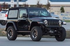 2018款Jeep牧马人路试谍照 洛杉矶车展发布