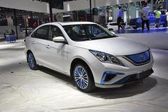 景逸S50 EV续航达250km 广州车展上市