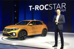 大众T-ROCSTAR概念车首发 明年量产