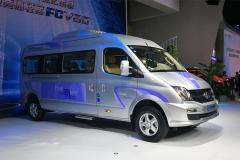 广州车展:大通V80燃料电池车补贴后售30.00万