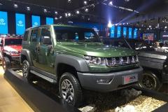 2017广州车展:北京BJ40L柴油版亮相