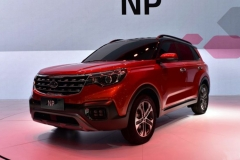 2017广州车展:起亚全新SUV NP亮相