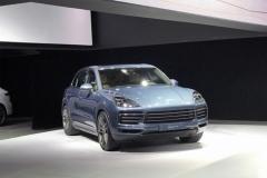 广州车展:全新Cayenne售99.8万起