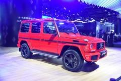 2017广州车展:奔驰G级特别版售183.80万起