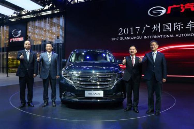 广汽传祺国际化进程提速 GM8星耀广州车展