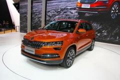 斯柯达柯珞克SUV宁波下线 明年一季度上市