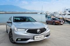 轴距加长后操控性依然很棒|试驾广汽Acura TLX-L