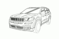 Jeep大7座SUV明年上 汉兰达、途昂还敢加价